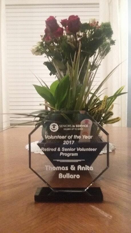 Volunteer of the Year Award.