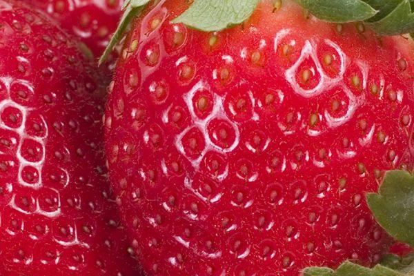 Closeup of strawberries